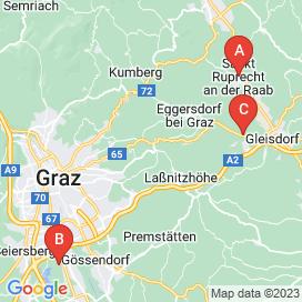 Standorte von Profi Jobs in Hart Bei Graz - August 2018