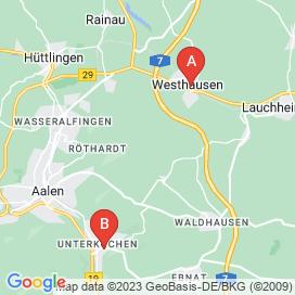 Standorte von Techniker Jobs in Aalen - August 2018