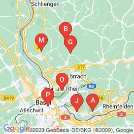 Standorte von Vollzeit Jobs in Basel - Juni 2018