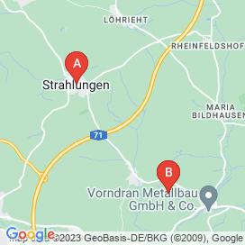 Standorte von Altenpfleger Jobs in Bad Neustadt an der Saale - August 2018
