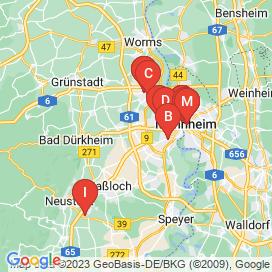 Standorte von 240+ Vollzeit Jobs in Dannstadt-Schauernheim - August 2018
