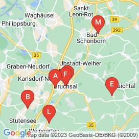 Standorte von Jobs in Bruchsal - Juni 2018